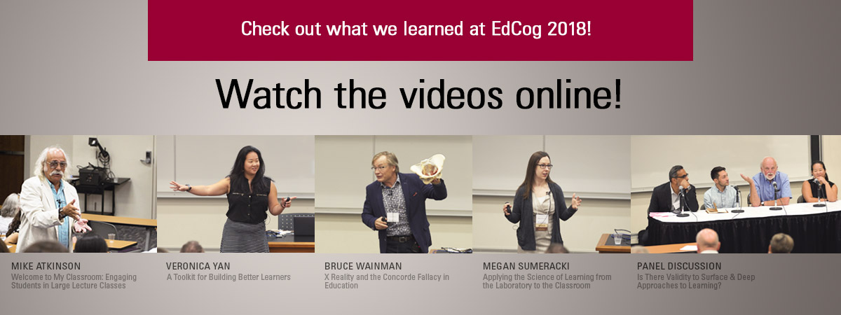 EdCog2018 Video Banner